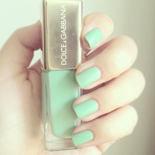 Pastel Green Nail Design : Fashion summerspirit